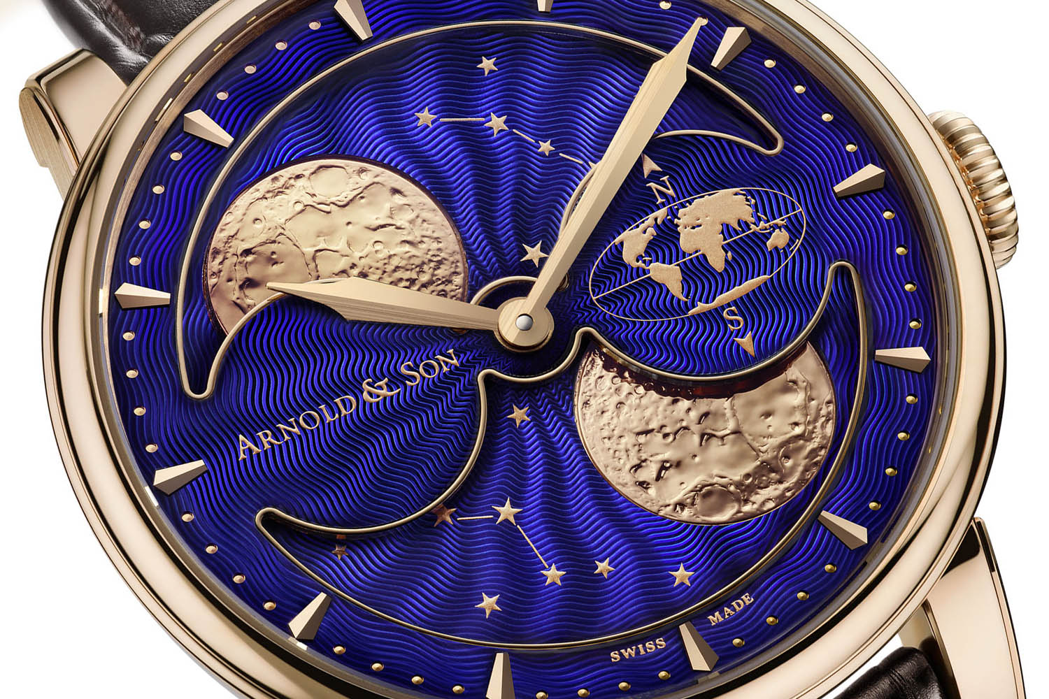 HM Double Hemisphere Perpetual Moon, Arnold & Son
