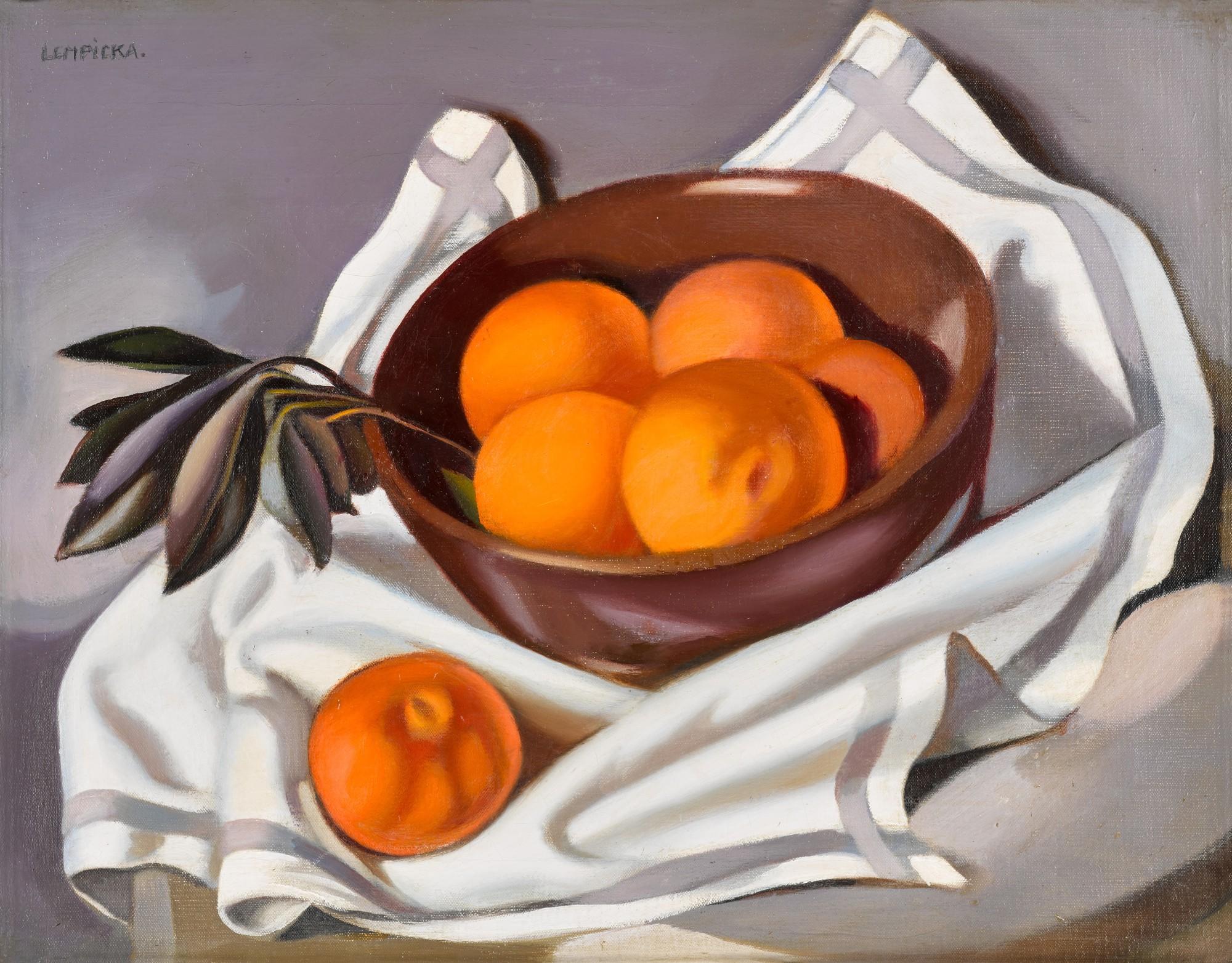 Тамара де Лемпицка. «Натюрморт с мандаринами», 1942 / эстимейт £180,000 - 220,000 / фото Sothebyʹs