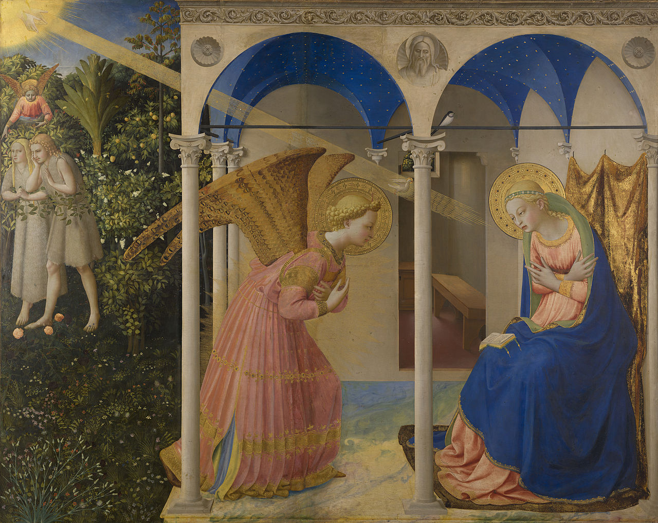 Гвидо ди Пьетро, известный как Фра Беато Анджелико. «Благовещение», 1430-1432