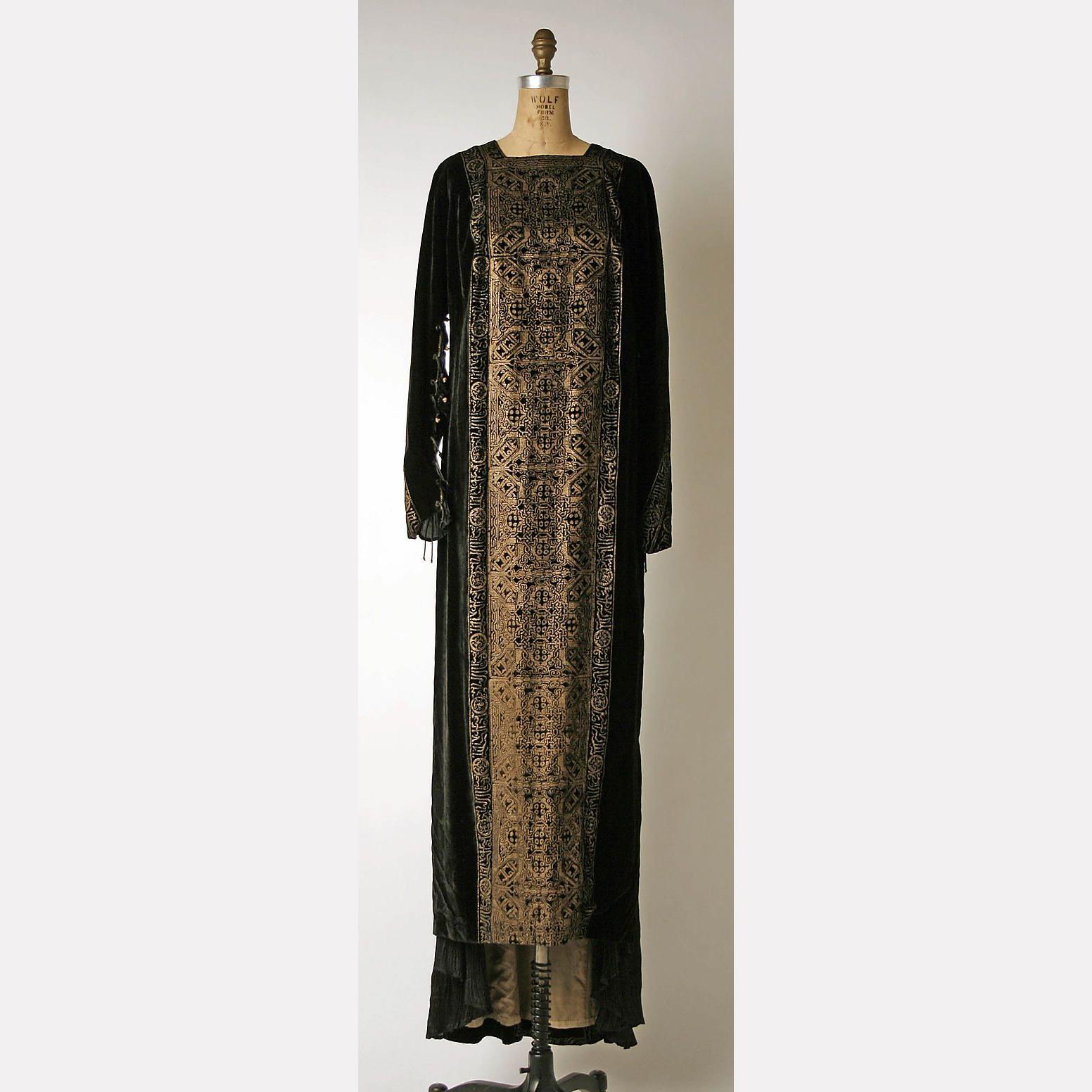 Вечернее платье, 1900-е, Мариано Фортуни