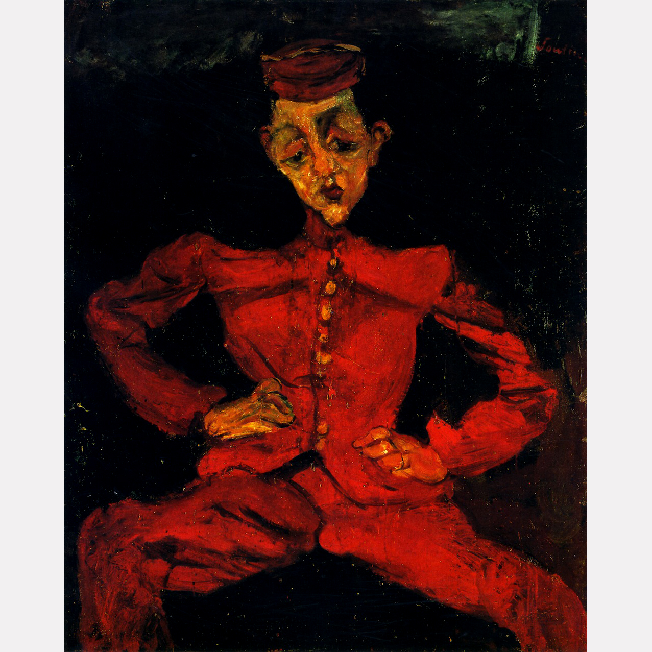 Хаим Сутин. Посыльный, ок. 1925