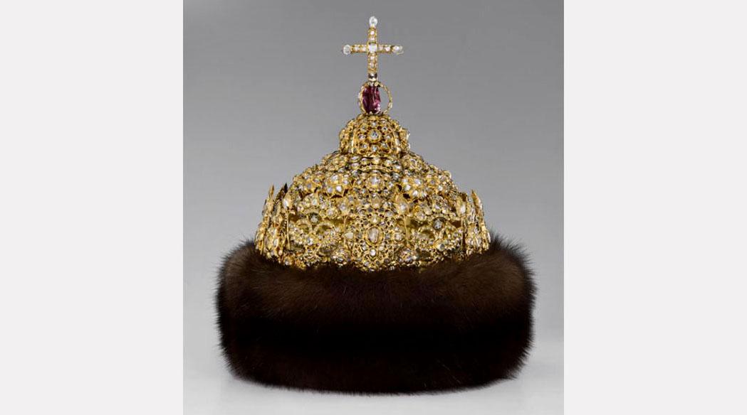 Шапка «Алмазная» царя Иоанна Алексеевича. Мастерские Кремля, 1680-е гг