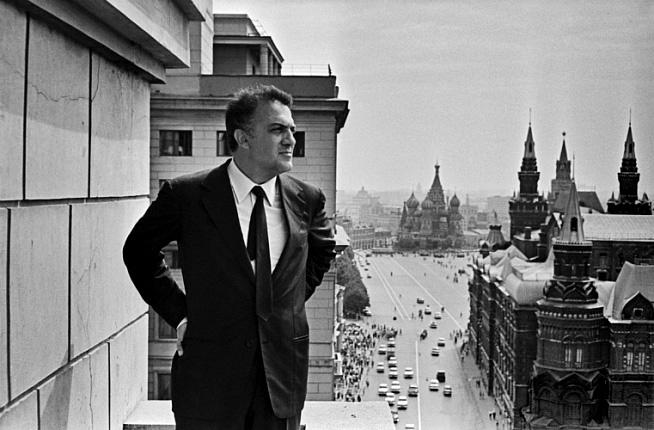 Федерико Феллини в Москве, 1963