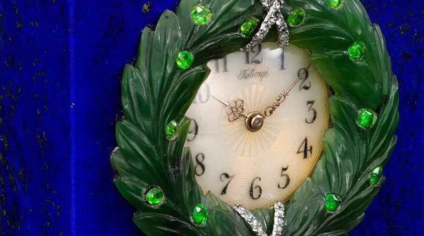 Часы Фаберже из коллекции Бруклинского Музея / фото Sotheby's