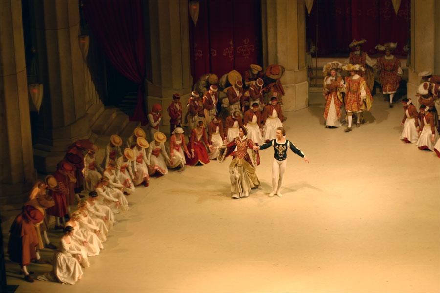 Балет «Лебединое озеро» / хореография Рудольфа Нуреева / Венская государственная опера / фото Dorotheum