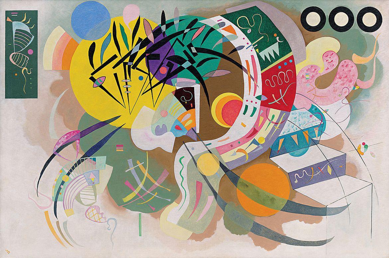 Василий Кандинский. «Доминантная кривая», 1936 / Solomon R. Guggenheim Museum, New York, Solomon R. Guggenheim Founding Collection. © 2018 Artists Rights Society (ARS), New York/ADAGP, Paris