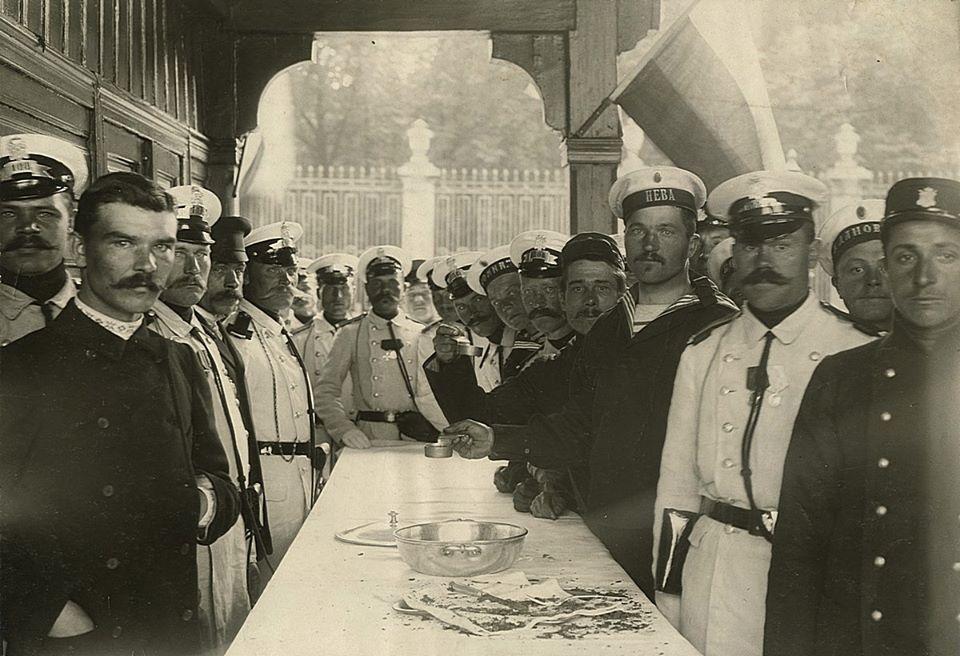 Карл Булла. Праздник речной полиции, 1910-е