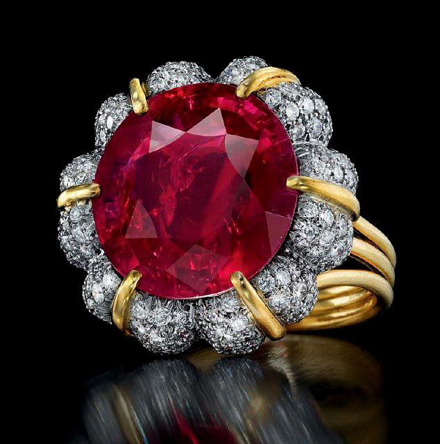 Рубиновое кольцо, Verdura, Christie's