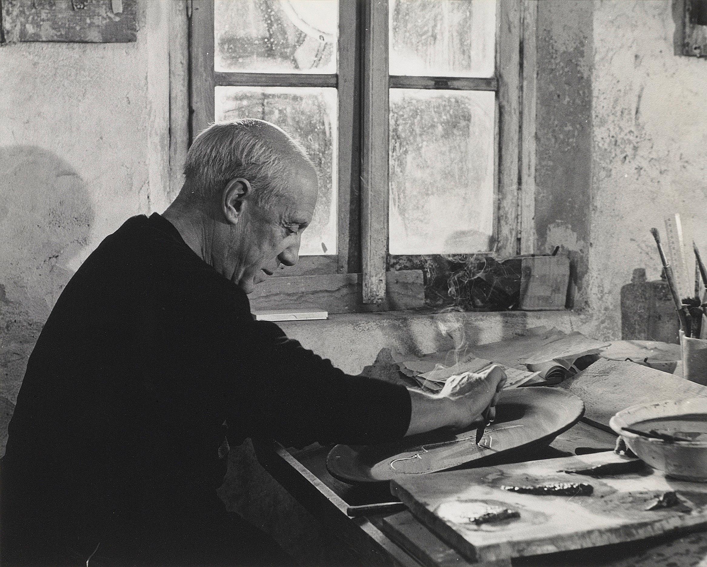 Пабло Пикассо, 1965 / фото Эдварда Квинна