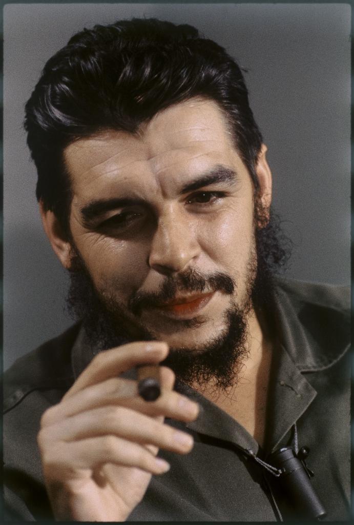Эллиотт Эрвитт. Че Гевара. Гавана. Куба, 1964