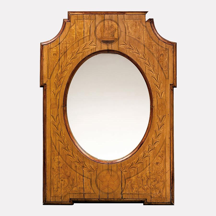 Зеркало с императорской яхты