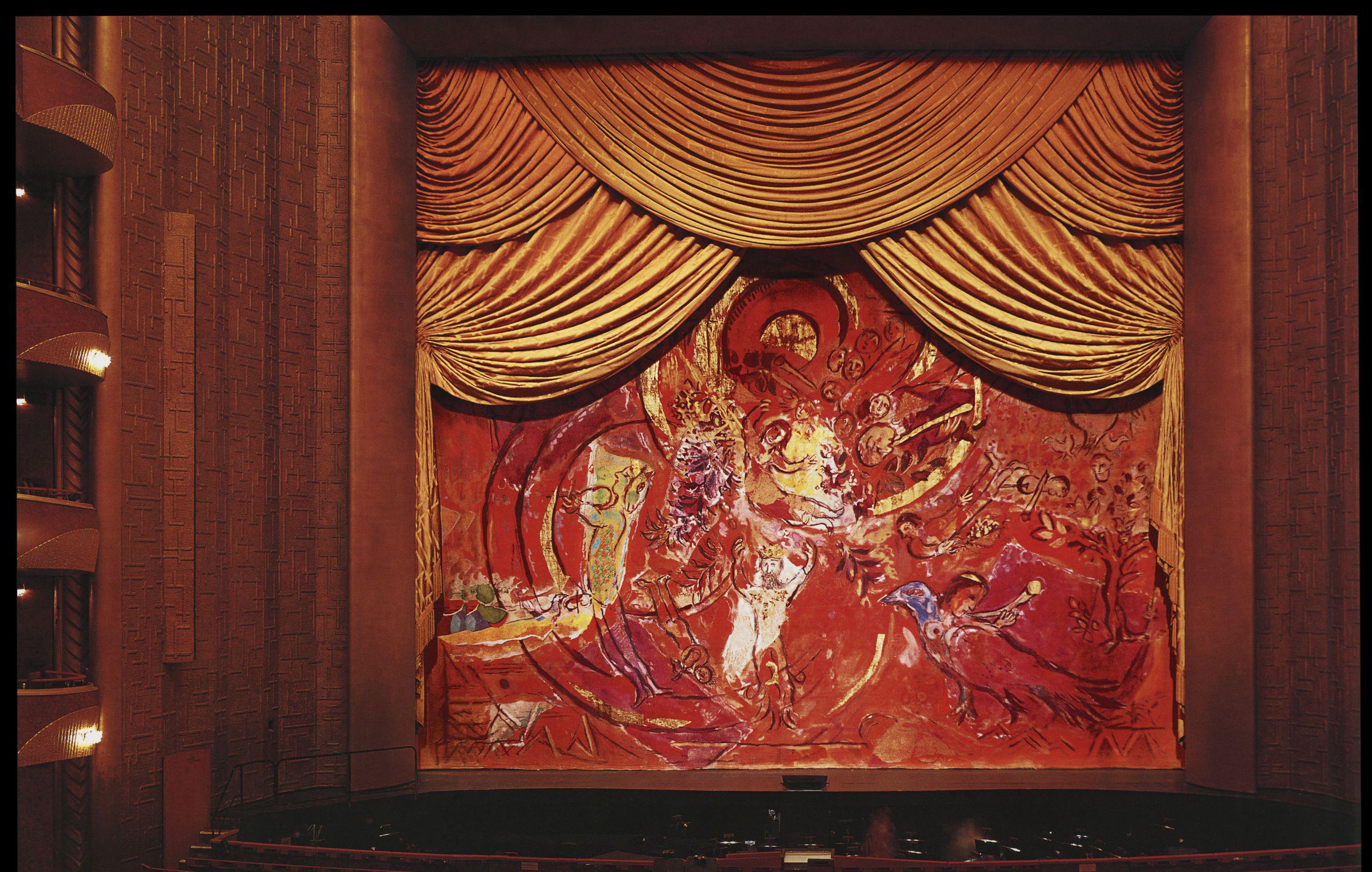 Занавес финальной сцены «Волшебной флейты», 1967 / Эстимейт  $250,000 — 450,000 / фото Bonhams