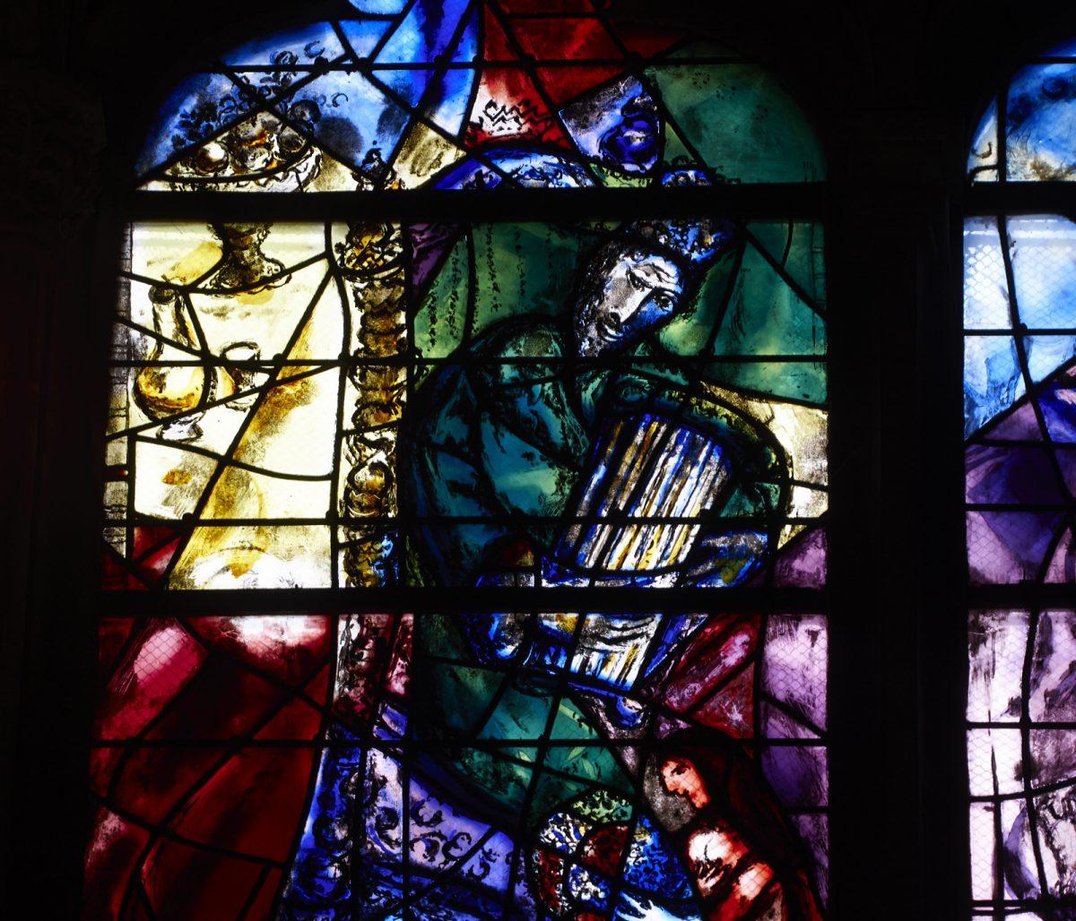 Витражи Марка Шагала. Кафедральный собор Святого Стефана в Меце.