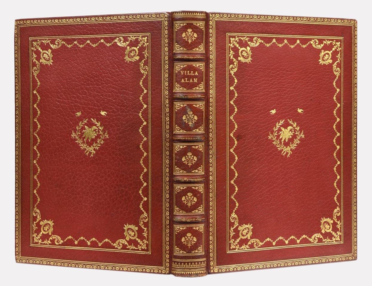 Гостевая книга Матильды Кшесинской. Фото Аукционный дом Osenat