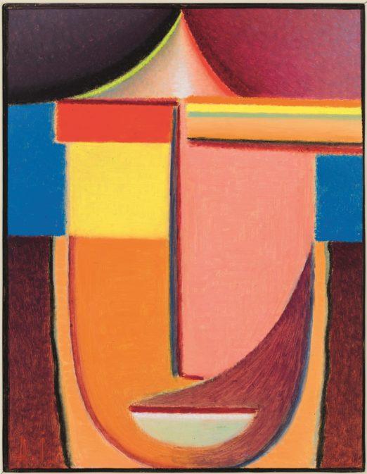 Алексей фон Явленский. Абстрактная голова: Карма, 1933