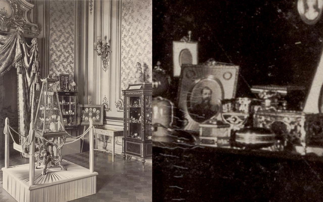 Миниатюрная мебель среди предметов великой княгини Марии Павловны