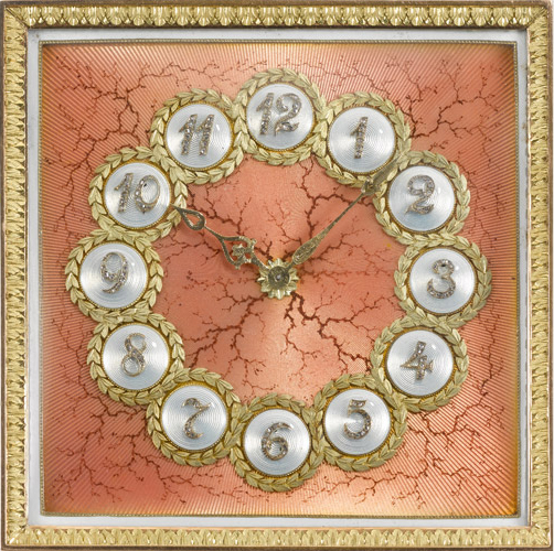 Часы Fabergé, 1904-1908