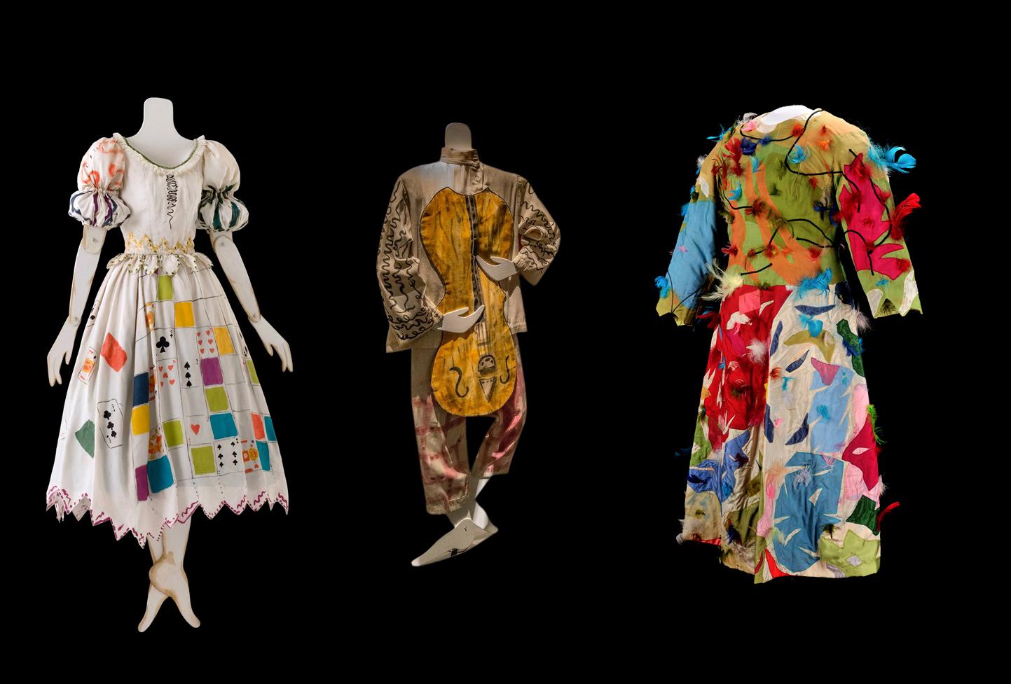Костюмы, сшитые по эскизам Марка Шагала
