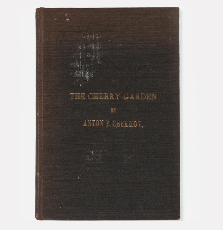 Антон Чехов, «Вишневый сад» («The Cherry Garden») / Английское издание 1908 года / фото Christie's