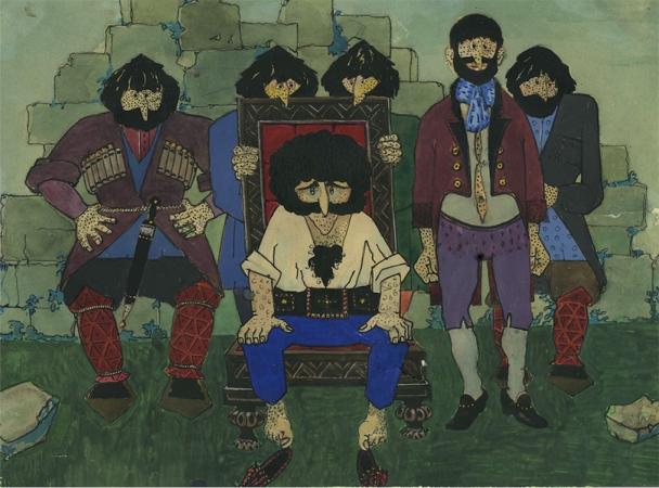 Рисунок Георгия Данелии / фото Московский музей современного искусства