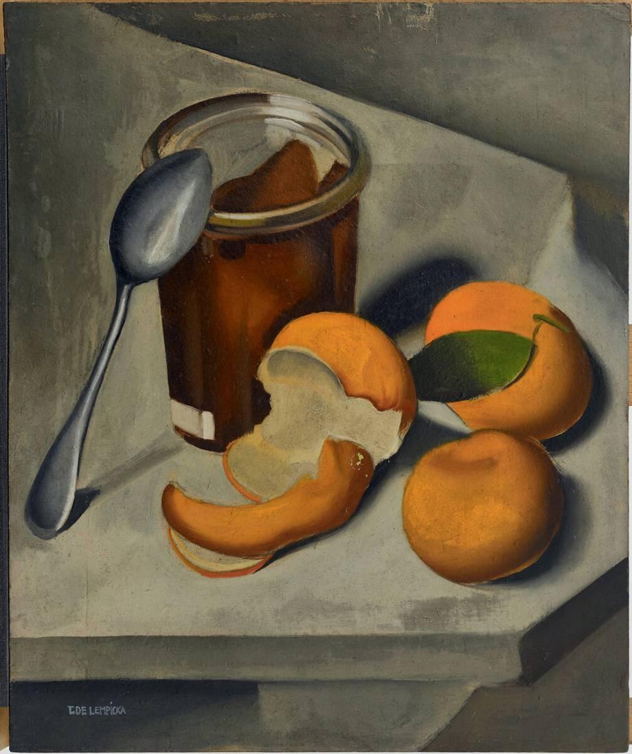 Тамара де Лемпицка. «Натюрморт с мандаринами», 1925 / Частное собрание