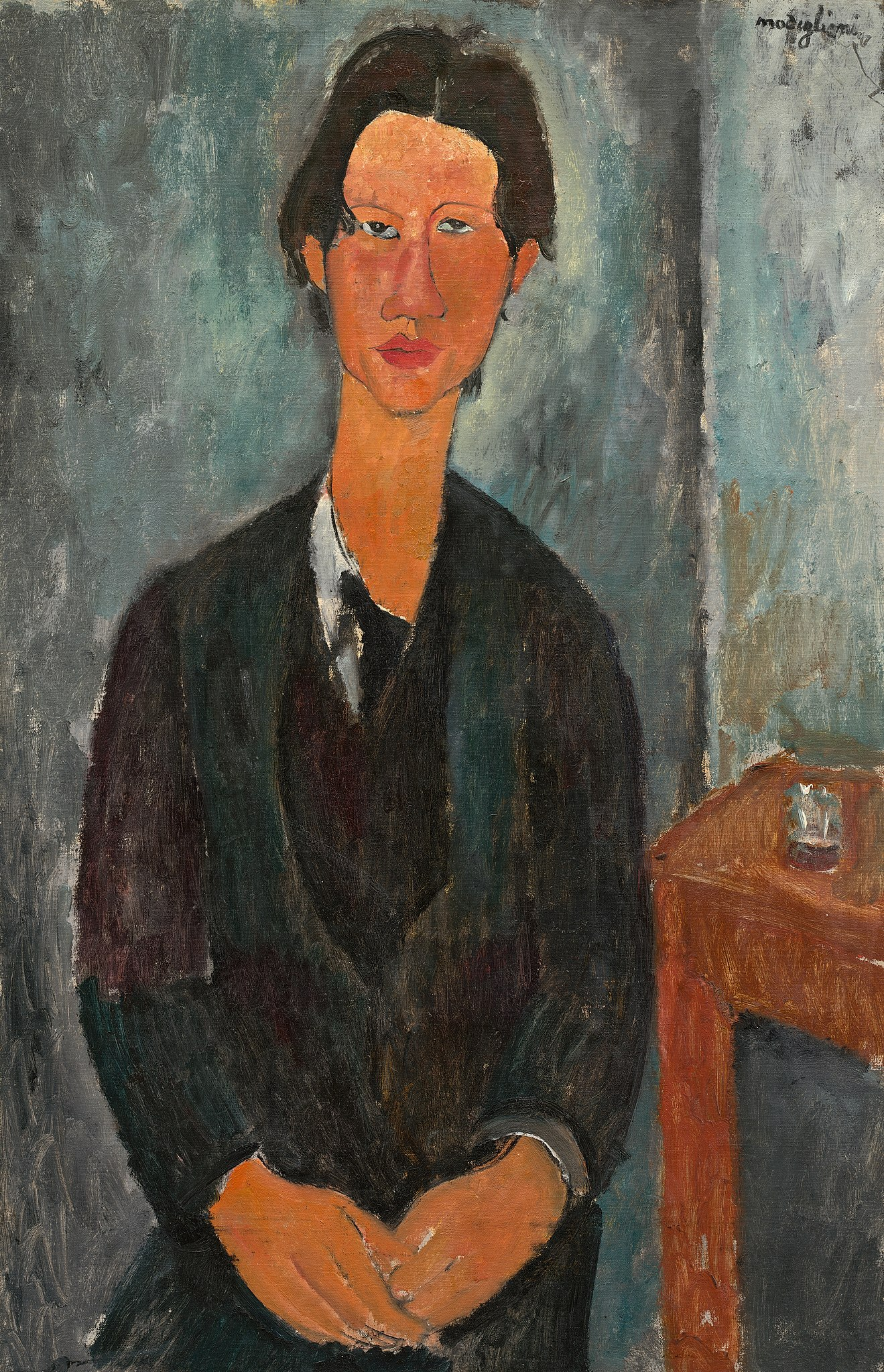 Амедео Модильяни. «Хаим Сутин», Национальная галерея искусств, Вашингтон