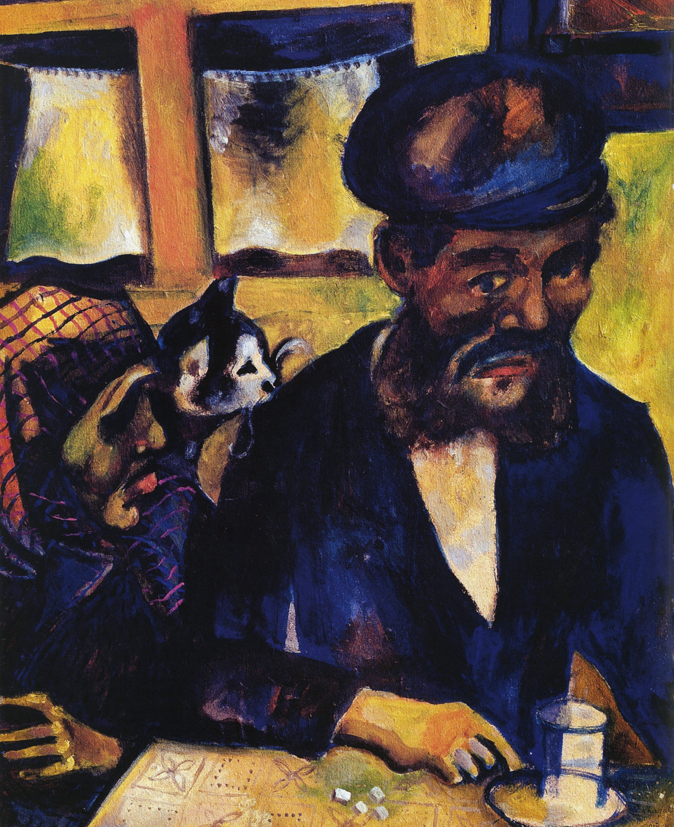Марк Шагал. Отец и бабушка, 1914