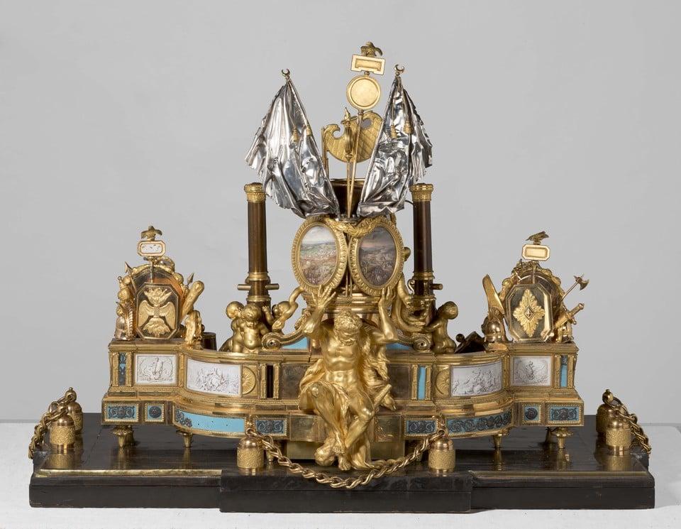 Чесменская чернильница. Франция, Париж, 1775-1778 гг.