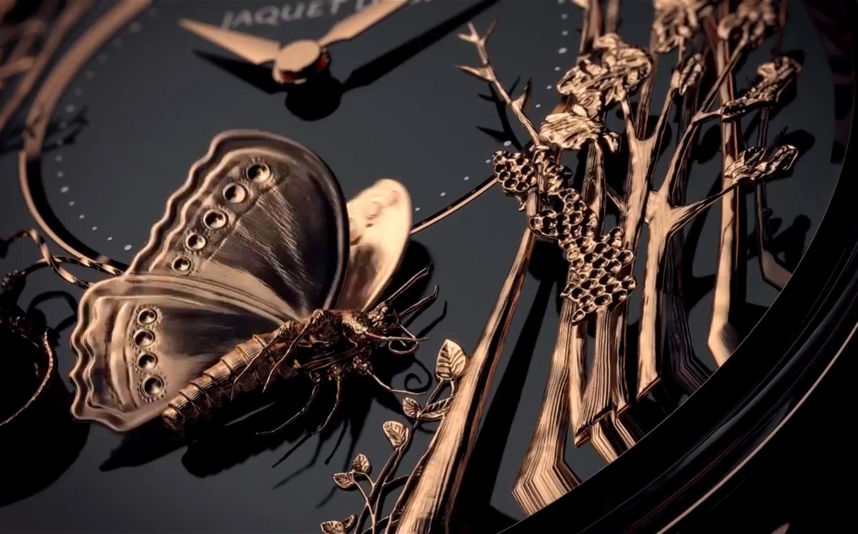 Loving Butterfly Automaton / фото © Jaquet Droz