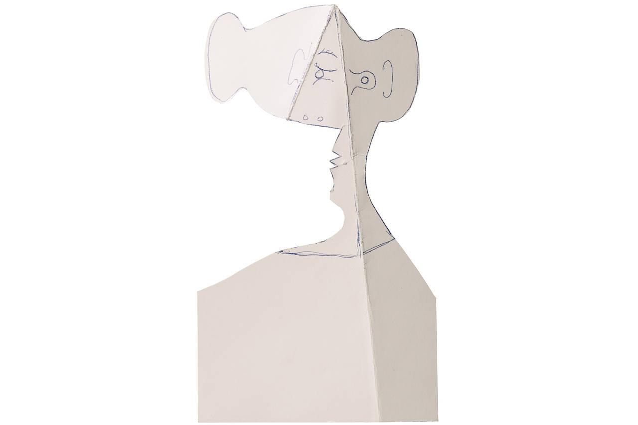 Лицо женщины. Пикассо, 1962 / Эстимейт £180,000-250,000 / Sotheby's