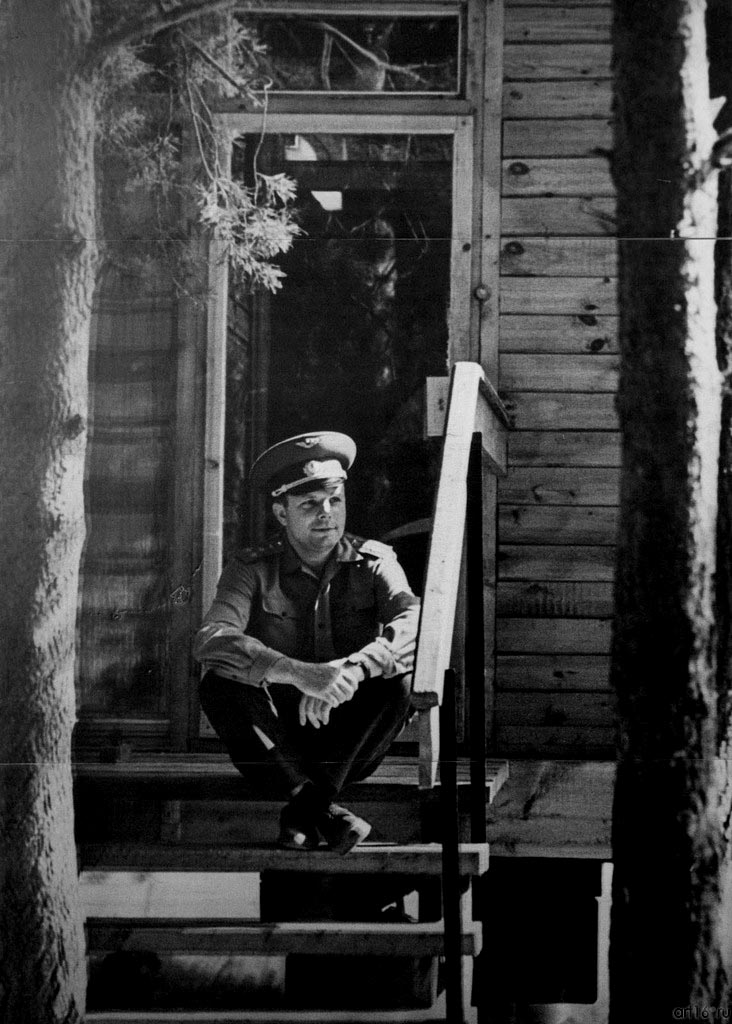 Владимир Зотов. Юрий Гагарин. Казань, 1967