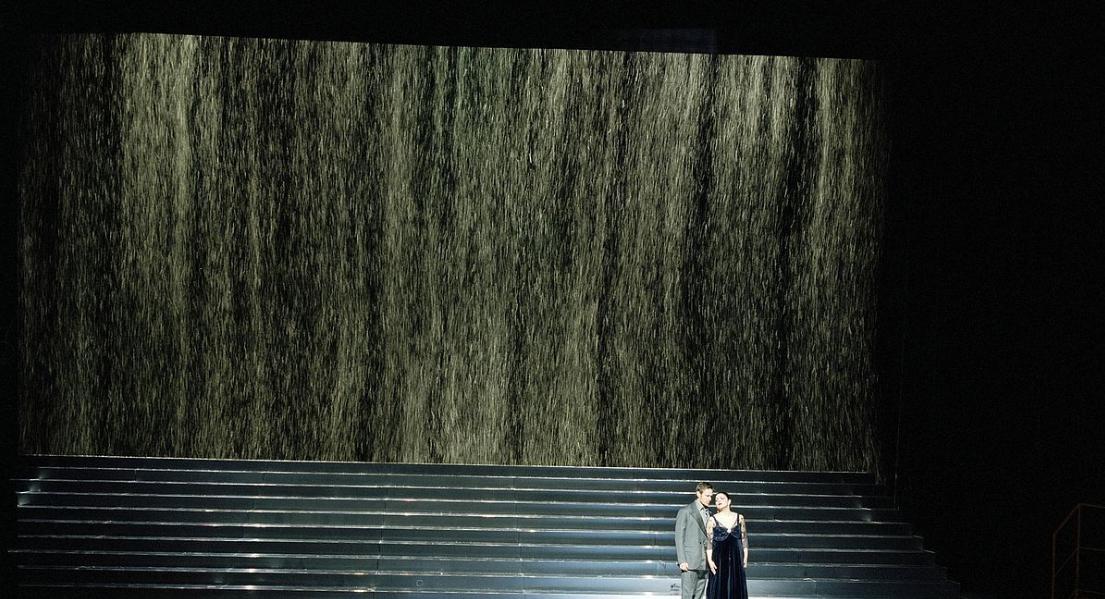 Опера «Евгений Онегин» / режиссер Фальк Рихтер / Венская государственная опера / фото Dorotheum