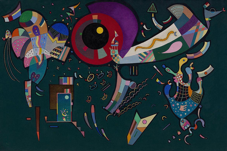 Василий Кандинский. «Черные линии», 1913 / Solomon R. Guggenheim Museum, New York, Solomon R. Guggenheim Founding Collection. © 2018 Artists Rights Society (ARS), New York/ADAGP, Paris