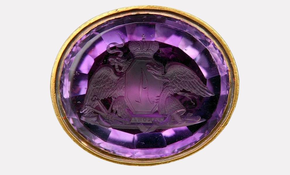 Личная печать Александра I