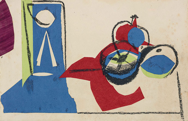 Натюрморт с фруктами, 1945 / Эсимейт £100,000-150,000 / Sotheby's