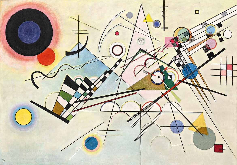 Василий Кандинский. «Композиция 8», 1923 / Solomon R. Guggenheim Museum, New York, Solomon R. Guggenheim Founding Collection.