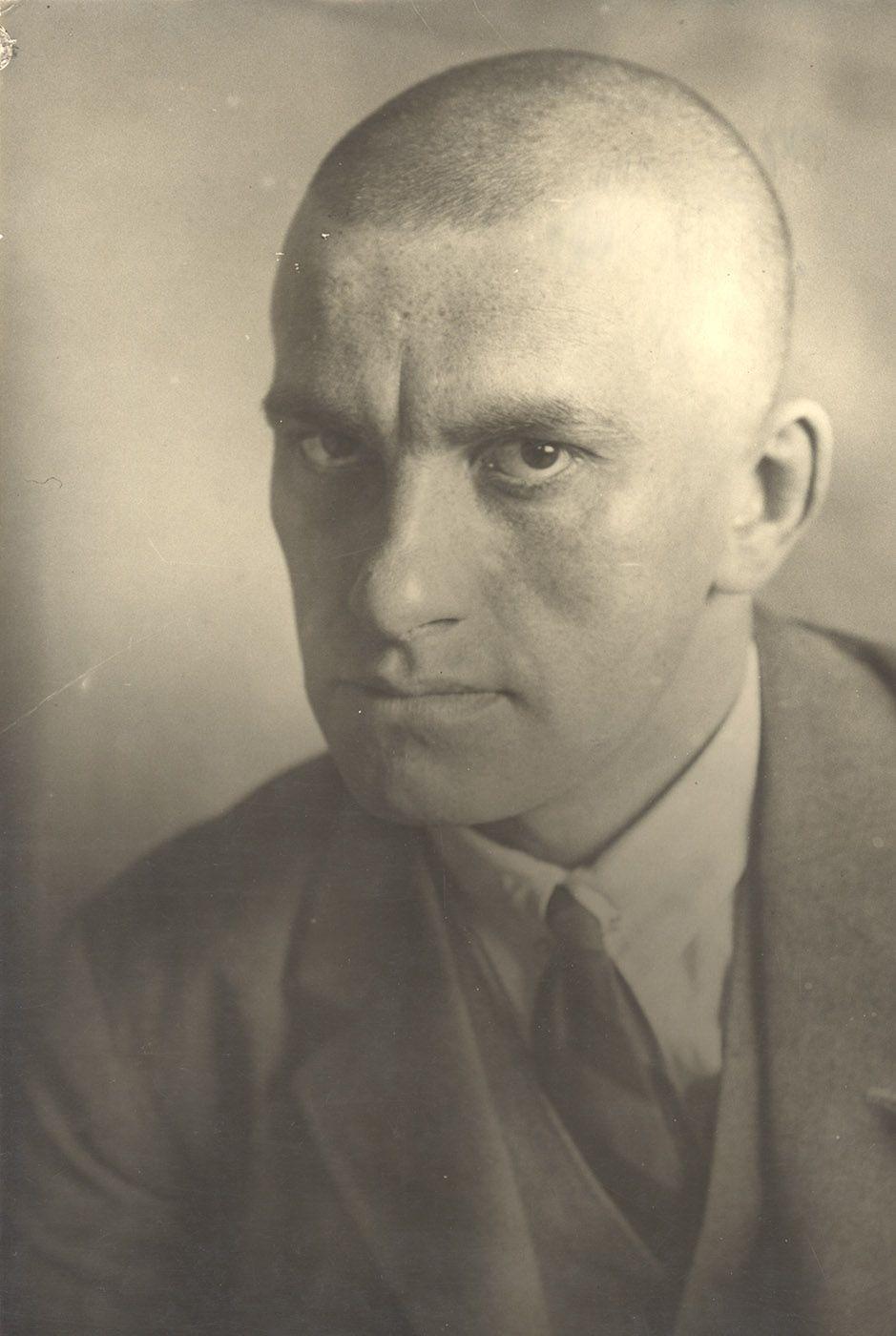 Александр Родченко. Портрет Маяковского, 1924
