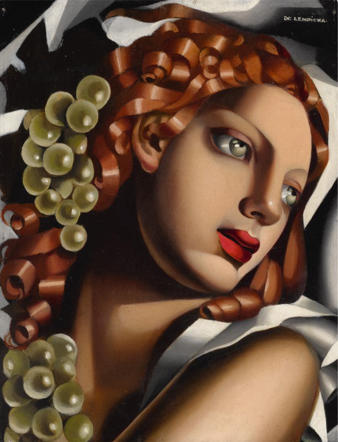 Тамара де Лемпицка. Сияние (L'Éclat), 1932 / Эстимейт $3,000,000 - 4,000,000 / фото Sotheby's