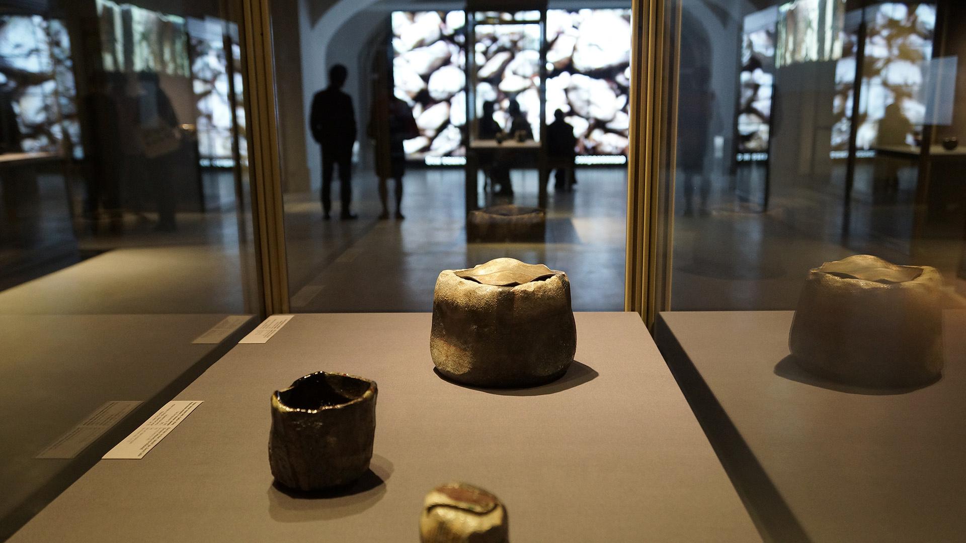 Керамика Раку. Выставка в Эрмитаже, 2015