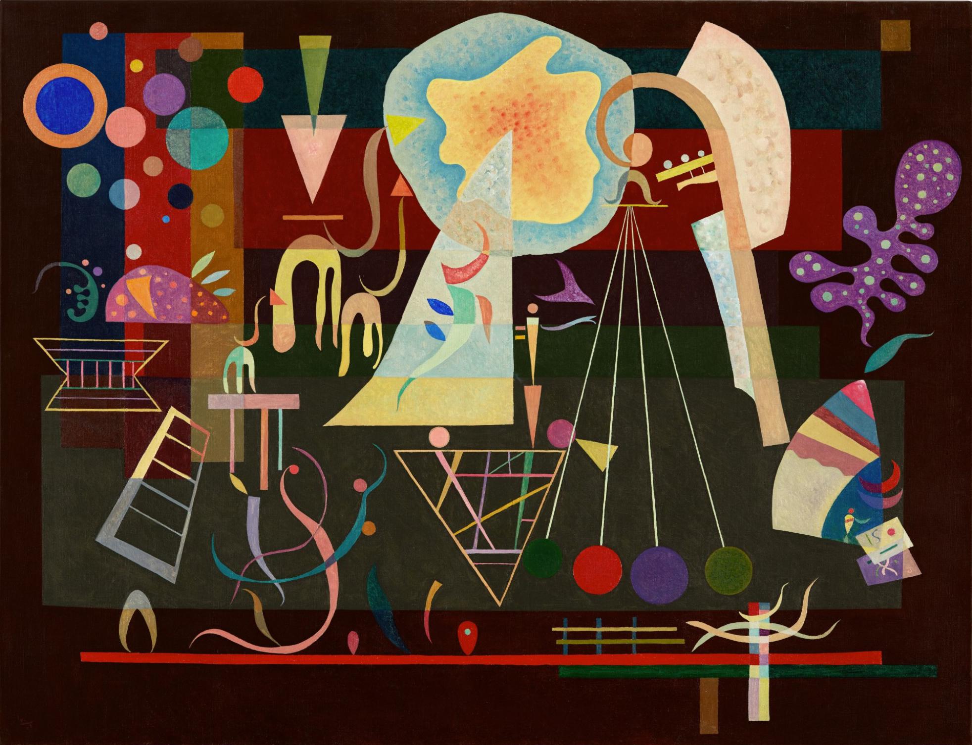 Кандинский В. Умиротворенные напряженности / фото Sotheby's
