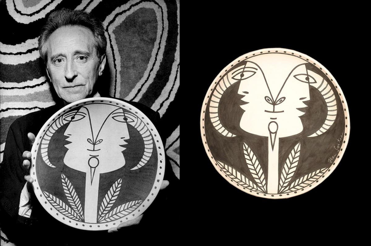 Два лица / Two Faces. Тарелка, керамика