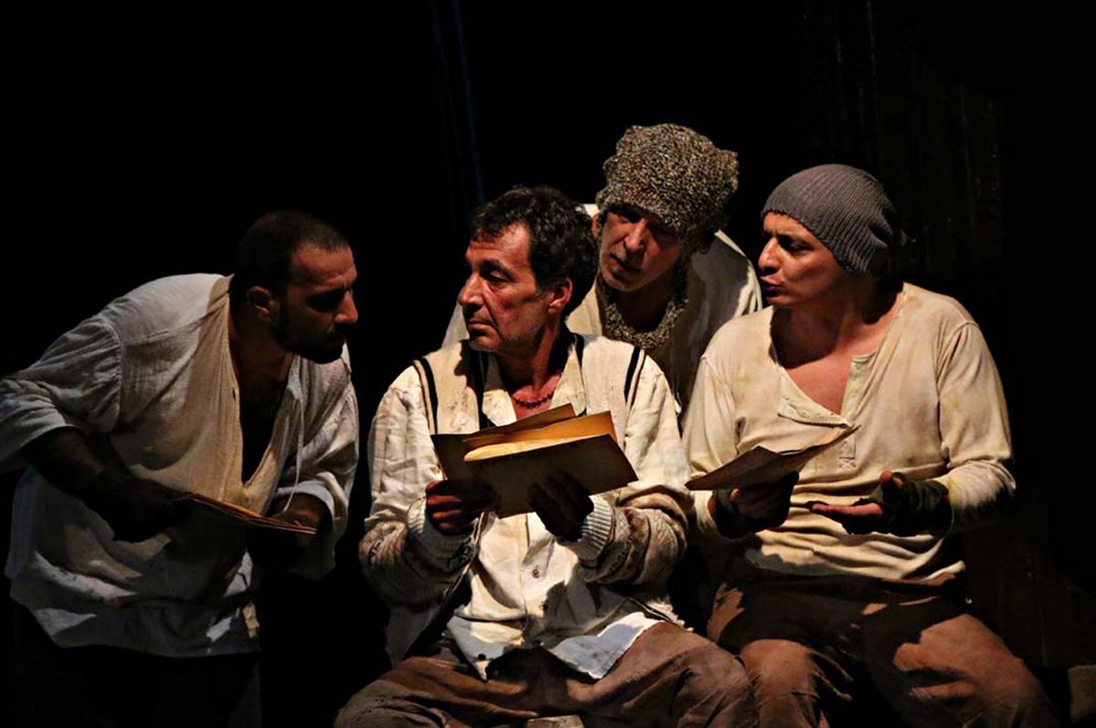 «Остров Сахалин» в спектакле одного из старейших театров Рима – «Teatro Argentina», премьера 2014. фото www.romecentral.com