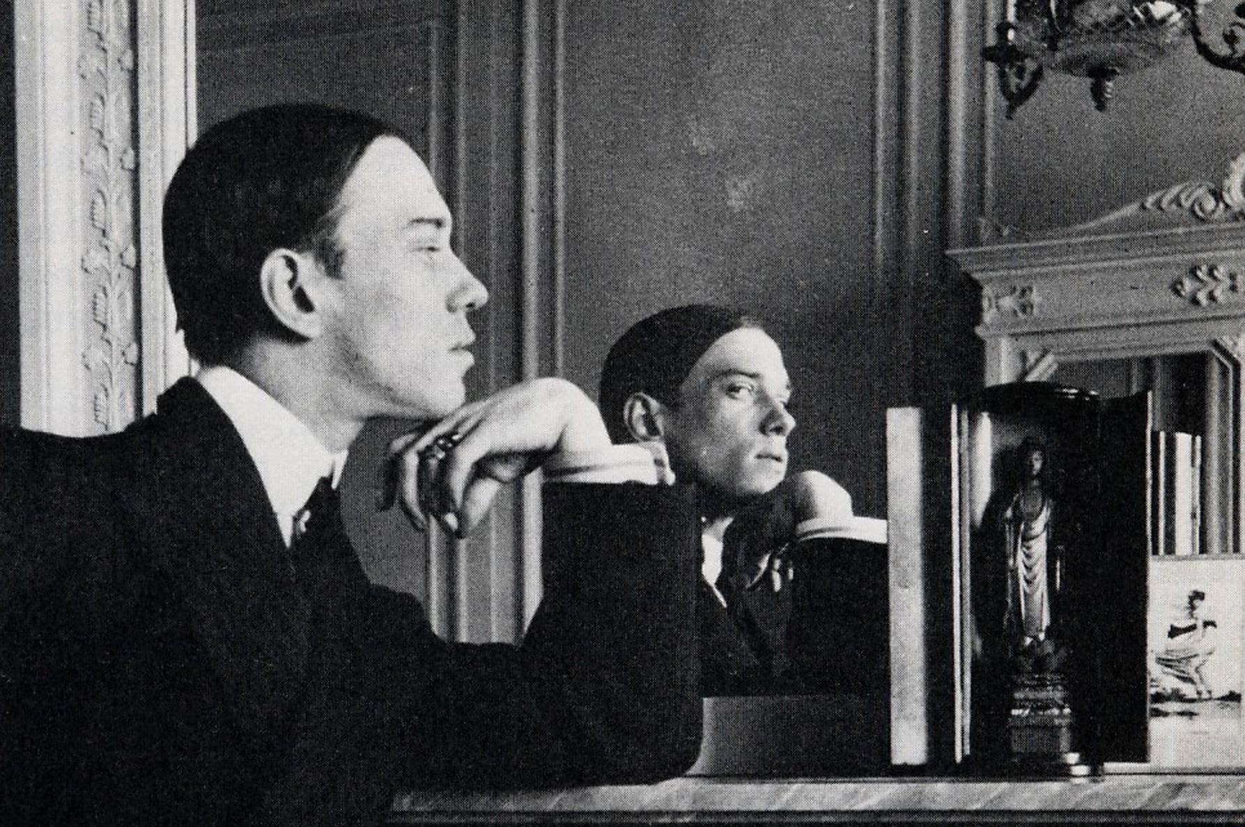 Вацлав Нижинский в Монте-Карло, 1911.