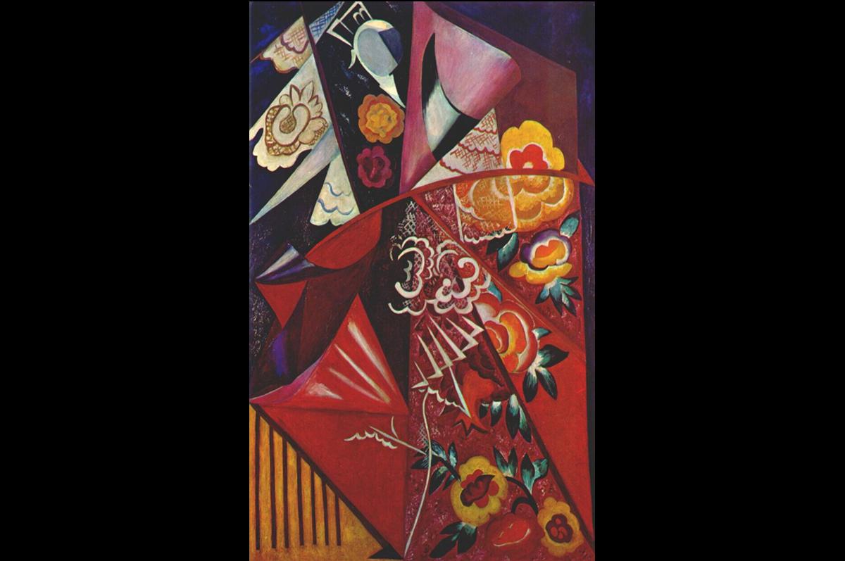 «Espagnole» Натальи Гончаровой, 1916. Ушла с молотка на лондонских торгах Christie's в феврале 2010 за £6,425,250. фото christies.com