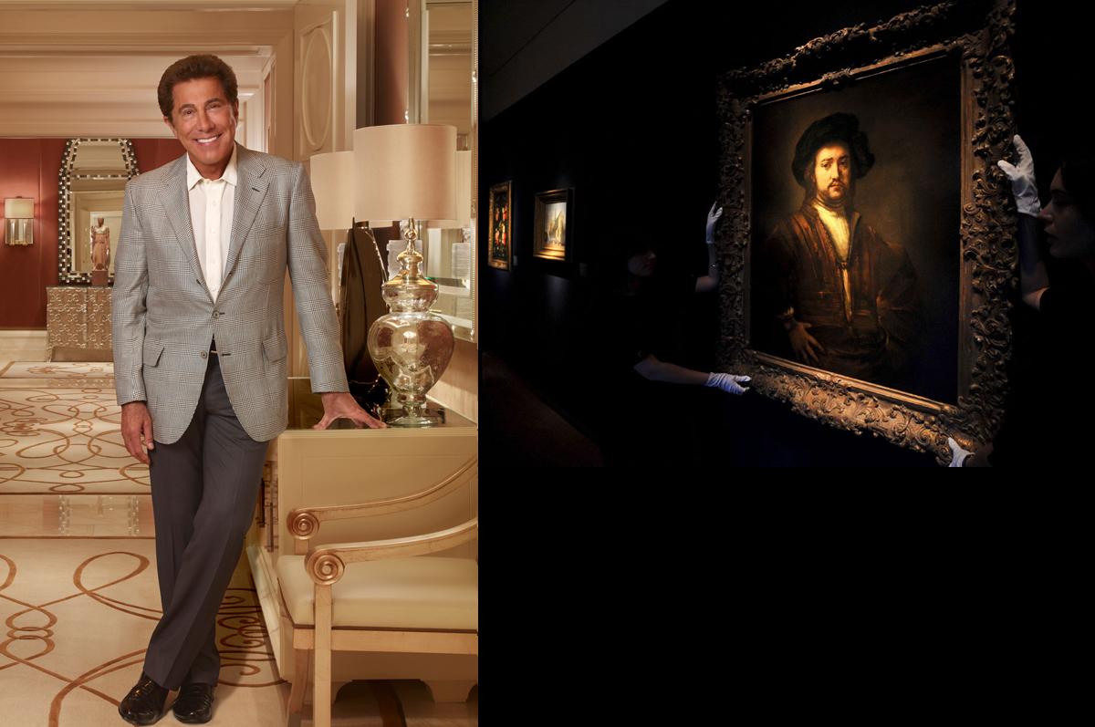 «Портрет неизвестного мужчины, стоящего подбоченясь» Рембрандта, 1658. Владелец — миллиардер из Лас-Вегаса Стив Винн, приобрел полотно 8 декабря 2009 года на лондонских торгах Christie's за £20,201,250 / фото из архива Wynn Las Vegas