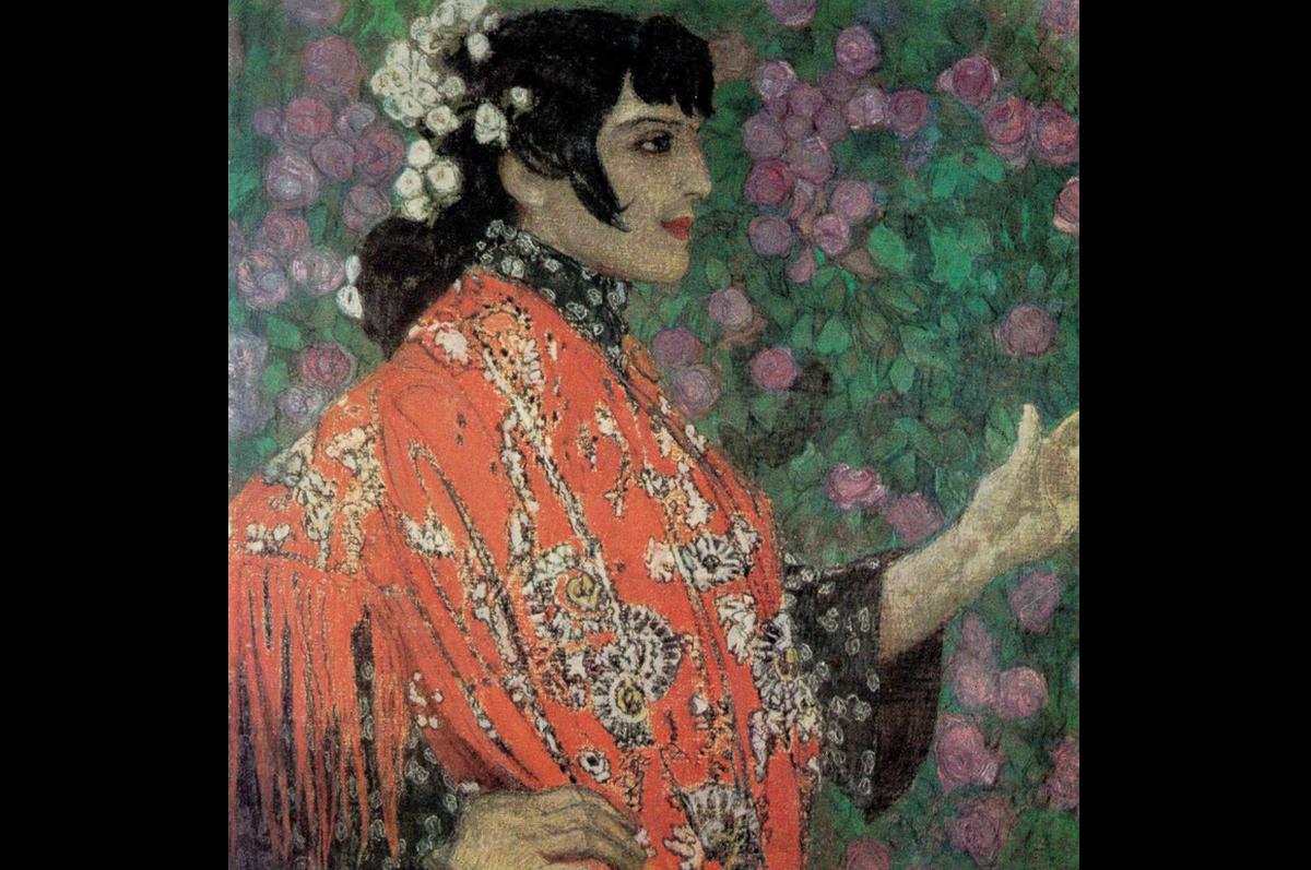 «Испанка в красной шали» Александра Головина, 1906. Государственный Русский музей, Санкт-Петербург