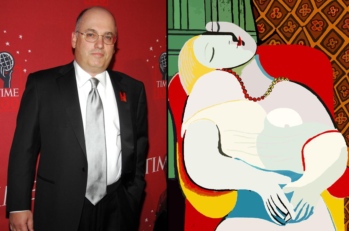 «Сон» Пабло Пикассо, 1932. Находится в частном собрании американского миллиардера Стивена Коэна, который выкупил ее у прежнего владельца в марте 2013 за рекордные $155,000,000 / фото www.artobserved.com