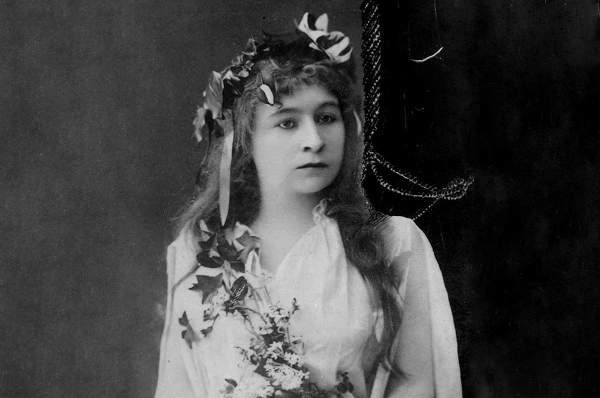 Одна из величайших актрис Российской Империи Мария Ермолова в роли Офелии на сцене Малого Театра / фото www.maly.ru