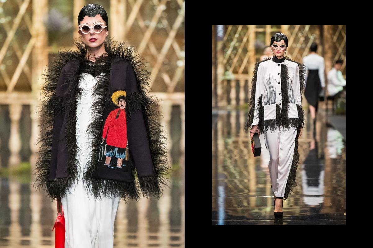 Трогательные и роскошные истории старика Пиросмани в модной коллекции дома ALEXANDER ARUTYUNOV