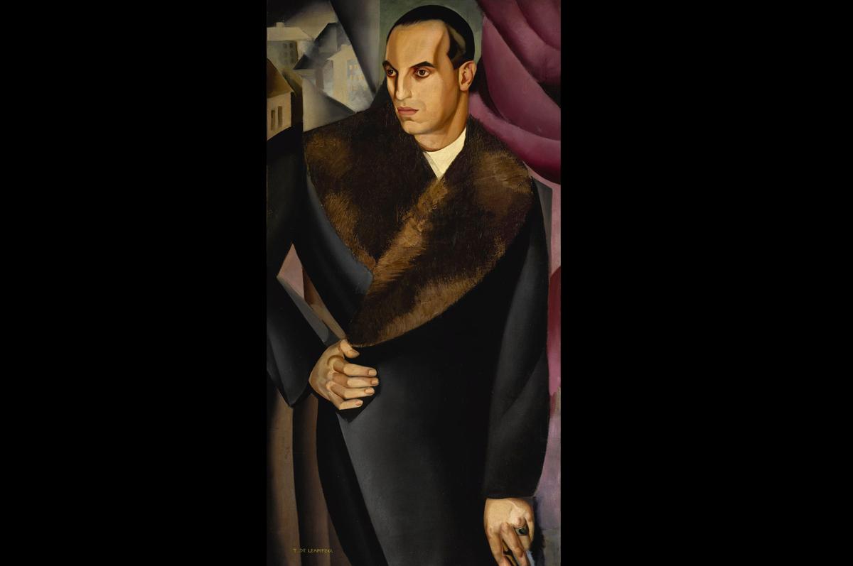 Тамара Лемпицка. «Портрет маркиза Сомми», 1925